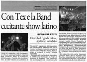 Articolo latin jazz band tex tersicore 2010