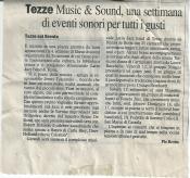 Music&Sound 4a edizione